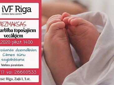Bezmaksas kursi topošajiem vecākiem 20.11., plkst.14:00
