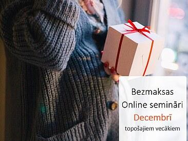 10.12. plkst.11 bezmaksas ONLINE seminārs par sagatavošanos dzemdībām