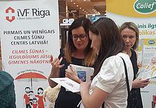 """31.augustā iVF Riga Cilmes šūnu centrs piedalījās pasākumā """"Gaidību Ceturtdienas"""""""